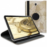 Husa pentru Samsung Galaxy Tab S4, Piele ecologica, Maro, 46920.02