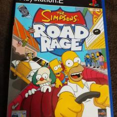 The Simpsons Road Rage, PS2, original, PAL