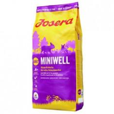 Hrana uscata pentru caini Josera, Mini Adult Miniwell, 15 Kg