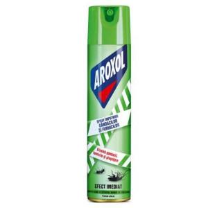 3 x Aroxol Spray Gandaci si Furnici, Insecticid aerosol, 3 x 500ml