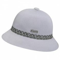 Palarie alba Kangol Chain Casual (Masura : S,M,L)  - Cod 93353454375