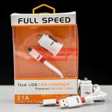 Cumpara ieftin Incarcator auto Dual USB micro-USB 2,1A