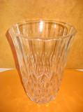 7003-Vaza cristal Vals Lambert stare buna. Inaltime 20, diametrul 14 cm.