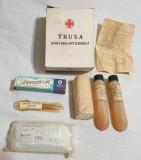 Epoca de Aur 1981 Obiect vechi romanesc de colectie Trusa Sanitara - Antichimica