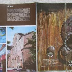 Bulgaria-Villes anciennes de Bulgarie.Pliant turistic.