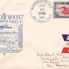 Aviatie, Aeroporturi, SUA 16 IUN 1941, Inaugurarea Aeroportului Washington