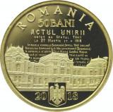 50 bani 2018 PROOF Unirea BASARABIEI cu Romania BASARABIA RAR