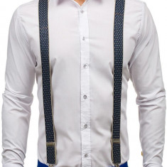 Brețele bărbați bleumarin-gri Bolf SZ04-A