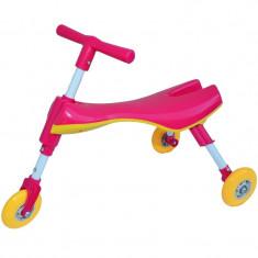 Tricicleta copii pliabila fara pedale - Roz