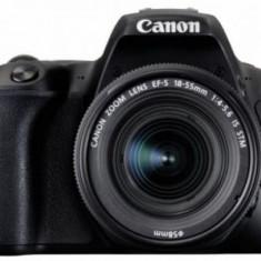 Aparat Foto DSLR Canon EOS 200D, + EF-S 18-55mm IS, 24.2 MP, Full HD, Wi-Fi (Negru)