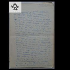 Manuscris/ Articol scris si semnat de Mihai Beniuc - 30 pagini