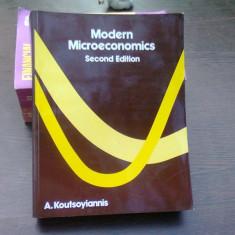 Modern microeconomics - A. Koutsoyannis (microeconomie moderna)