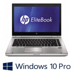 Laptop refurbished HP EliteBook 8460p, Intel Core i5-2520M, Win 10 Pro