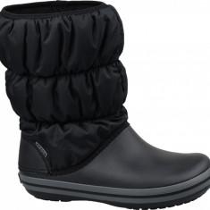 Pantofi de iarna Crocs Winter Puff Boot W 14614-070 pentru Femei