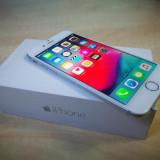 IPhone 6 16gb neverlocked 100% original BONUS: Folie Display + Husa + Cablu Date, Gri, Neblocat