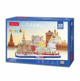 Cumpara ieftin Puzzle 3D - Moscova, 107 piese, CubicFun