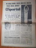 Sportul 23 iulie 1976-nadia comaneci inca 2 medalii de aur la paralele si barna