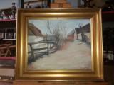 Tablou ulei pe panza  - Ulita, Peisaje, Realism