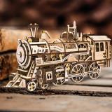 Cumpara ieftin Locomotivă Retro 3D Puzzle DIY Mecanică