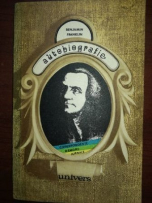 Autobiografie- Benjamin Franklin foto