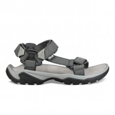 Sandale Bărbați Outdoor Piele Teva Terra Fi 5 Universal Leather Men, 39.5, 40.5, 42, 43, 44.5, 45.5, Gri