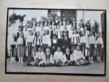 Fotografie veche, Interbelica: Banat, Sasca Montana. Grup de copii, port popular