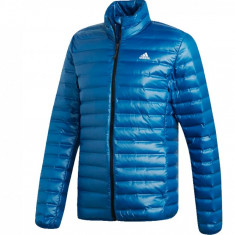 Jacheta sport Adidas Varilite Down Jacket DX0783 pentru Barbati, L, M, S, Albastru