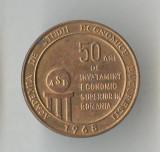 Insigna cultura educatie ASE - Academia de studii economice Bucuresti 1968
