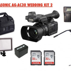 Panasonic AG-AC30 . Videocamera pro filmari evenimente/ nunti