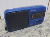 Radio portabil Sony ICF 380 (Fm-Am) recepționează antena satelor