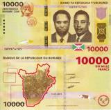 BURUNDI 10.000 francs 2015 UNC!!!