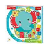Puzzle Trefl Baby Fun Elefantel, 8 piese