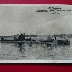 Constanta Submarinul delfinul la sosirea in tara/patata