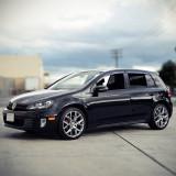 Paravanturi VW Golf VI 5 usi 2009-2014 hatchback set 4 deflectoare