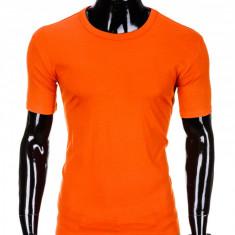 Tricou barbati, bumbac - S970-portocaliu