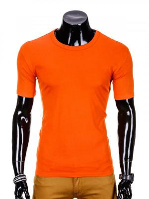 Tricou barbati, bumbac - S970-portocaliu foto