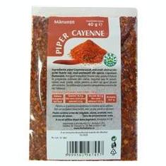 Piper Cayenne Maruntit 40gr Herbavit Cod: herb01049