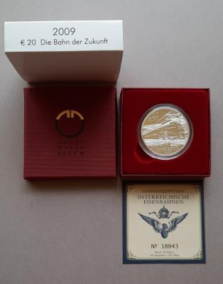 Moneda tematica de argint - 20 Euro 2009, Austria -Proof foto