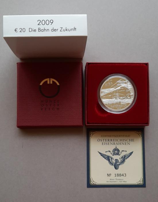 Moneda tematica de argint - 20 Euro 2009, Austria -Proof