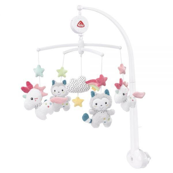 Carusel muzical mobil - Aiko & Yuki PlayLearn Toys