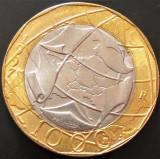 Moneda BIMETAL 1000 LIRE- ITALIA, anul 1997  *cod 1408  UNC FASIC - EROARE HARTA, Europa