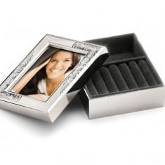 Caseta de argint pentru inele si bijuterii Perla by Chinelli Cod Produs 723