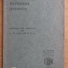 Tacitus Histoires. Lexic latin-francez