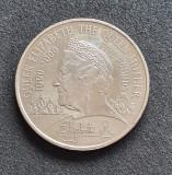Marea Britanie 5 Lire Pounds 2000 Queen Mother, Europa