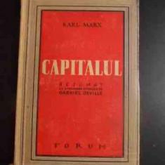 Capitalul - Rezumat Cu Aprobarea Autorului - Karl Marx ,543395