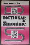 GH. BULGAR - DICTIONAR DE SINONIME