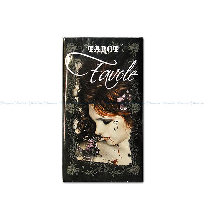 "Carti Tarot ""FAVOLE"" Furnier 78 file"