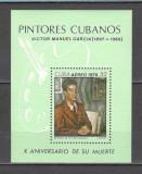 Cuba.1979  Pictura:V.Manuel-Bl.  PC.27, Nestampilat