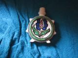 plosca mica veche originala inaltime 13 cm g7