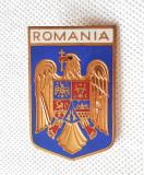 Romania - Placheta stema Romaniei